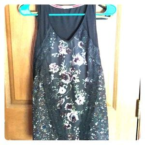 Maurice's sleeveless floral top